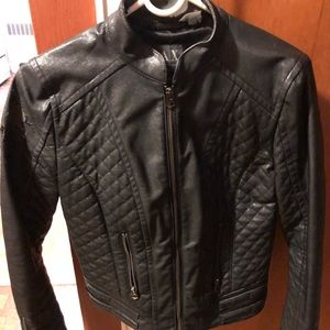 Armani exchange Moto jacket black extra small